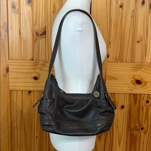 The Sak Kendra brown leather hobo purse